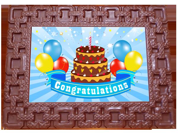 Frame SQUARES - Congratulations