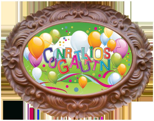Frame OVAL - Congratulations