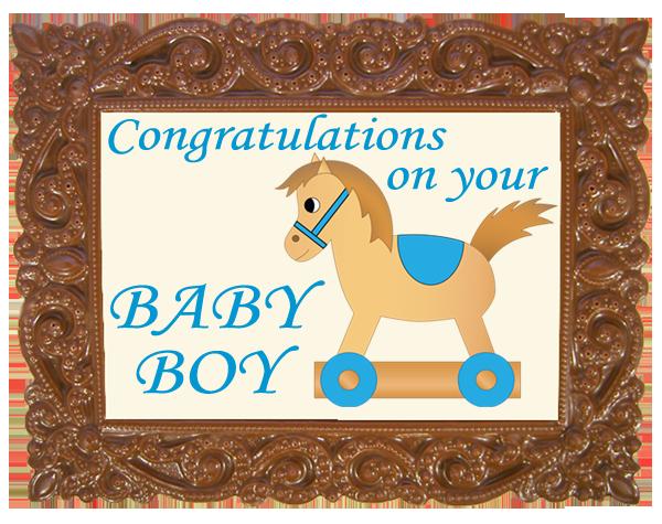 Frame VICTORIAN - Baby Boy