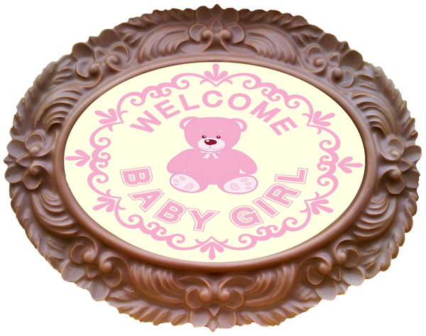 Frame OVAL - Baby Girl