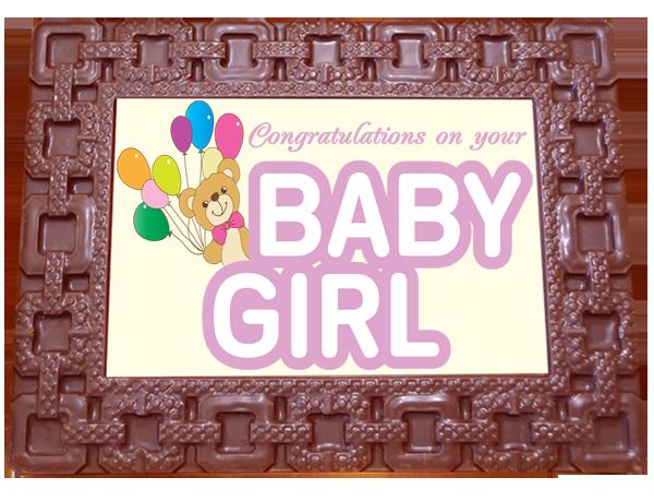 Frame SQUARES - Baby Girl
