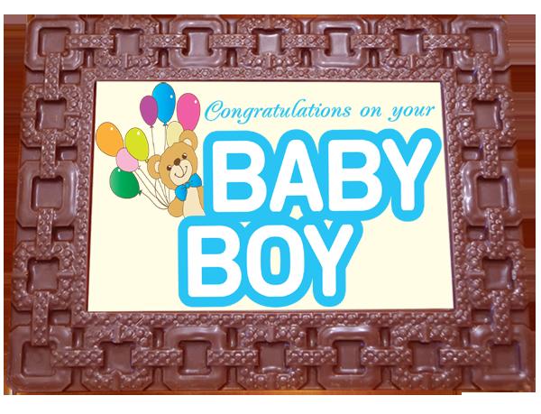 Frame SQUARES - Baby Boy