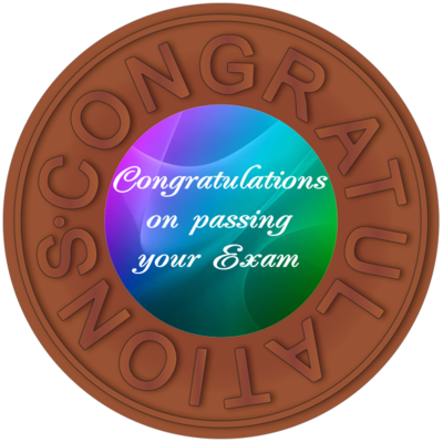 Congratulations Passing Exam