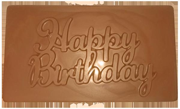Happy Birthday Chocolate Bar