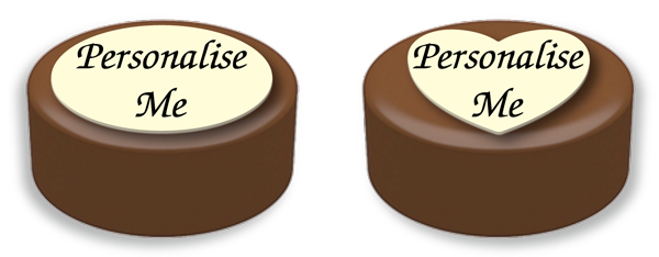 Personalised Printed Belgian Chocolate Covered Oreos