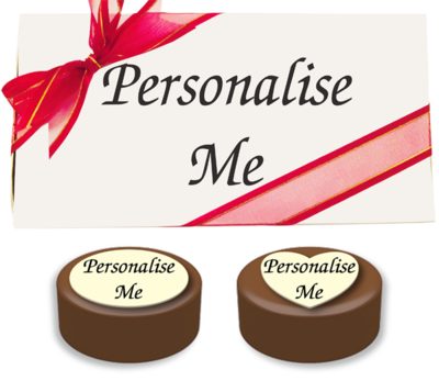 Box of 8 Personalised Belgian Chocolate Covered Oreos