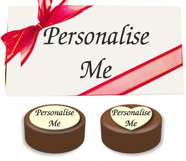 Box of 8 Personalised Belgian Chocolate Covered Oreos