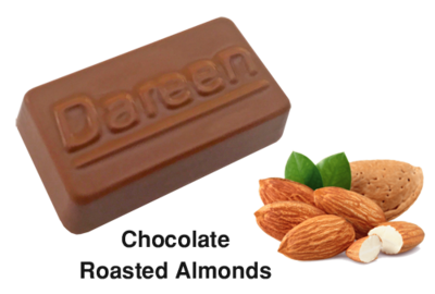 ​​Dareen Hand Made Belgian Chocolate with Chocolate Almond
