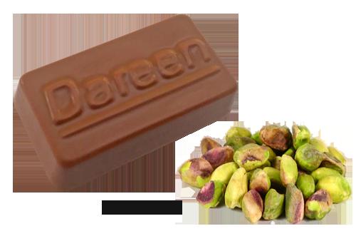 Dareen Hand Made Belgian Chocolate with Pistachio Cream