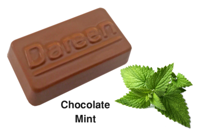Dareen Hand Made Belgian Chocolate with Chocolate Mint​