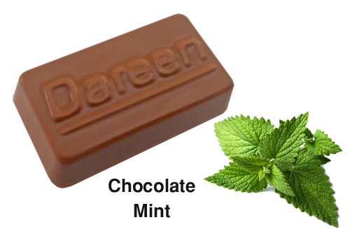 Dareen Hand Made Belgian Chocolate with Chocolate Mint
