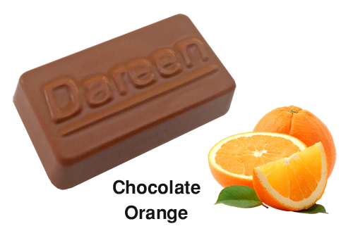 Dareen Hand Made Belgian Chocolate with Chocolate Orange
