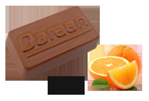 Dareen Hand Made Belgian Chocolate with Chocolate Orange