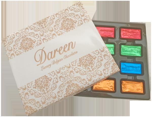 Dareen Assorted  Fillings Box of 12