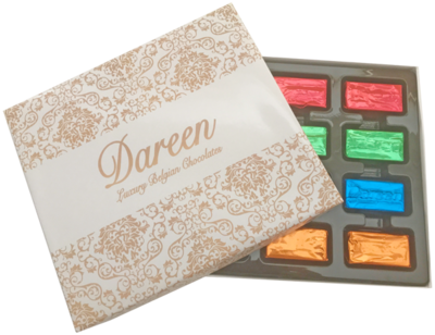 Dareen Assorted  Fillings Box of 12