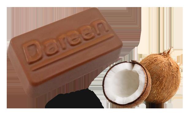Dareen Hand Made Belgian Chocolate with Coconut Cream