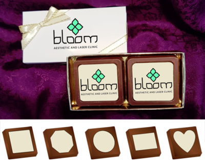 Personalised Printed Promotional Chocolates (Box of 2)