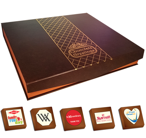 Personalised Printed Promotional Chocolates (Box of 40)