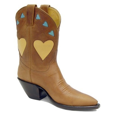 Bittersweat Heart Fancy Boots