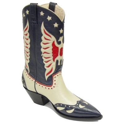 Rogers Fancy Boots Blue