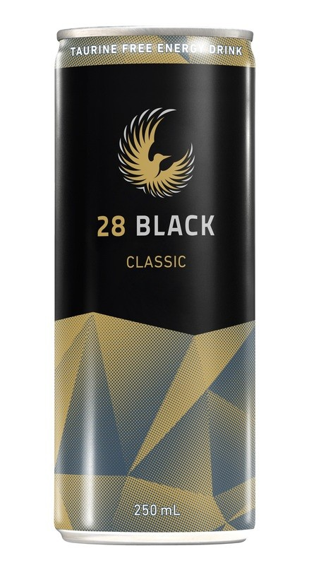 28 BLACK Classic – Tray of 24 Cans