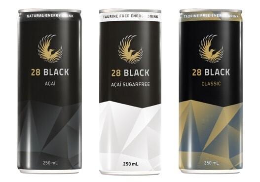 28 Mixed - Tray of 9x 28 BLACK Açai and 6x 28 BLACK Açai Sugarfree and 9x 28BLACK Classic