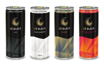 Create your personal 28 BLACK Tasting Box 4 cans