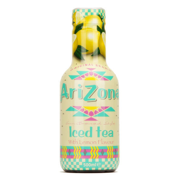 Arizona Iced Tea Lemon – Tray of 12 Bottles