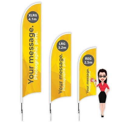Feather AdFlag Kit Deal - from $119.90/KIT