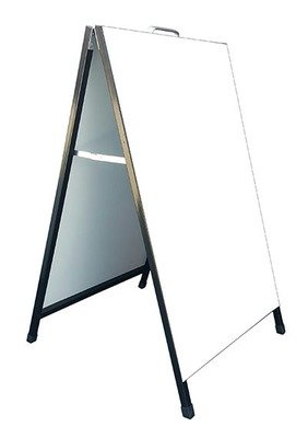 Metal A-sign 600X900MM (Display only)