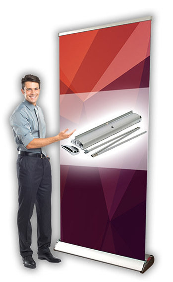 Pullup Banner, Deluxe.  As low as $119.90.