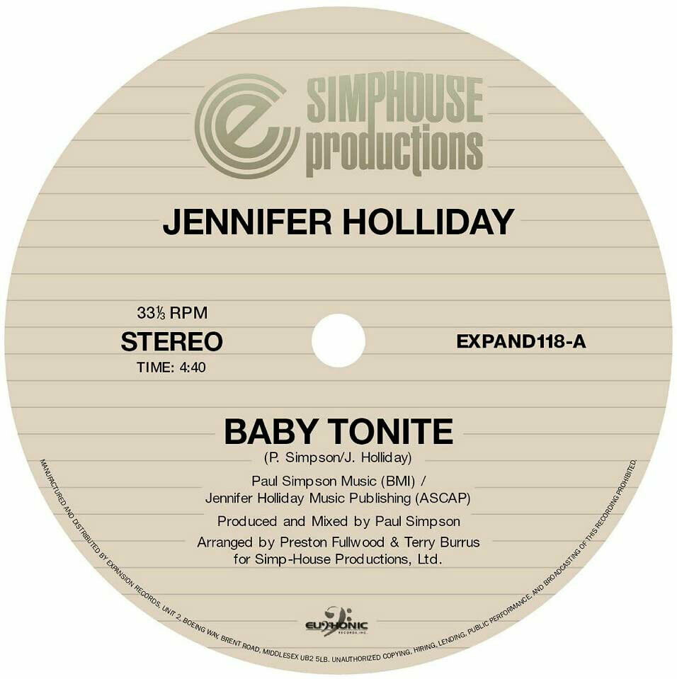 Jennifer Holliday (12-inch)