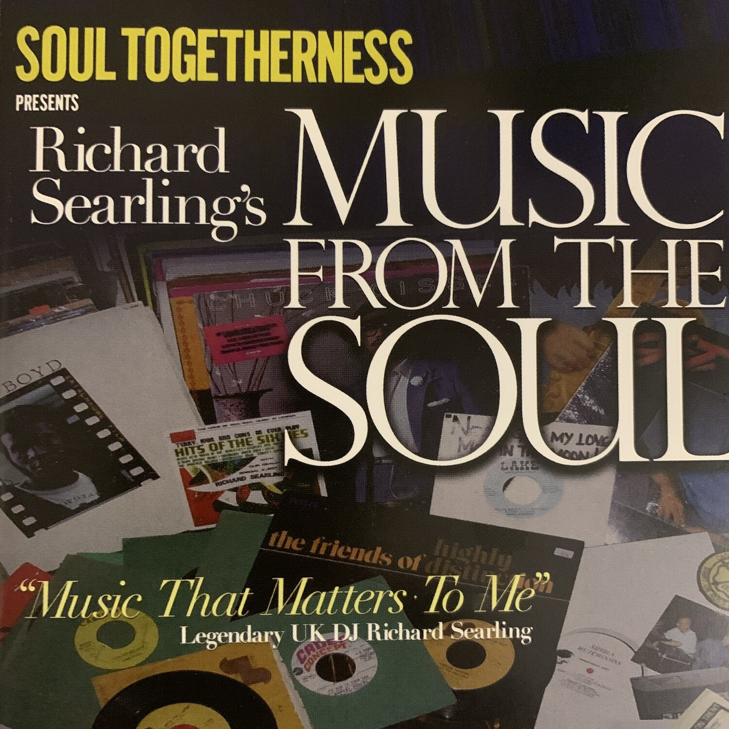 RICHARD SEARLING'S MUSIC FROM THE SOUL (CD)