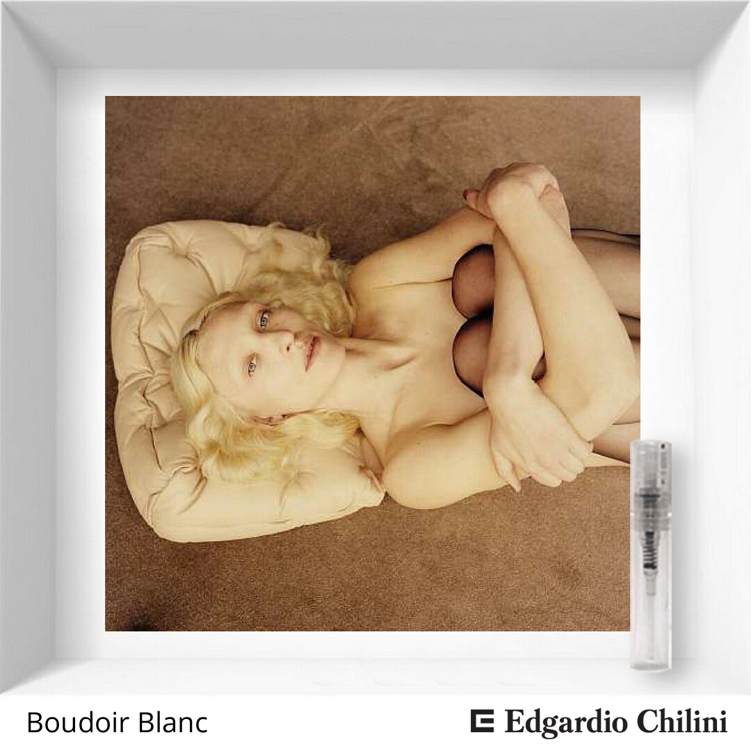 Edgardio Chilini Boudoir blanc sample