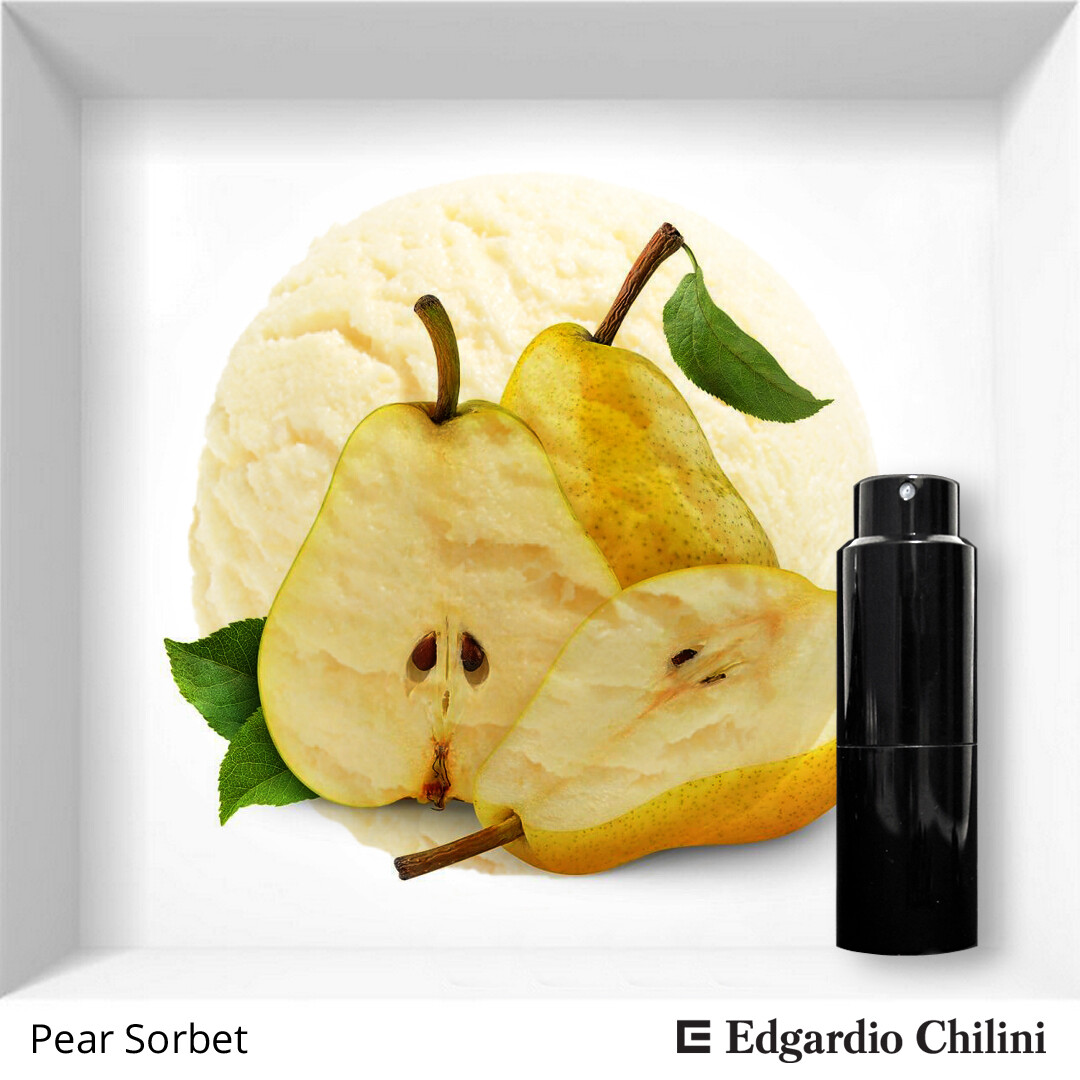 Edgardio Chilini, Pear Sorbet, pear flower fragrance