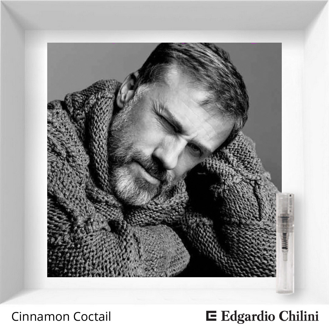 Edgardio Chilini Cinnamon Cocktail sample