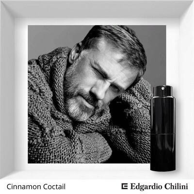 Edgardio Chilini Cinnamon Cocktail