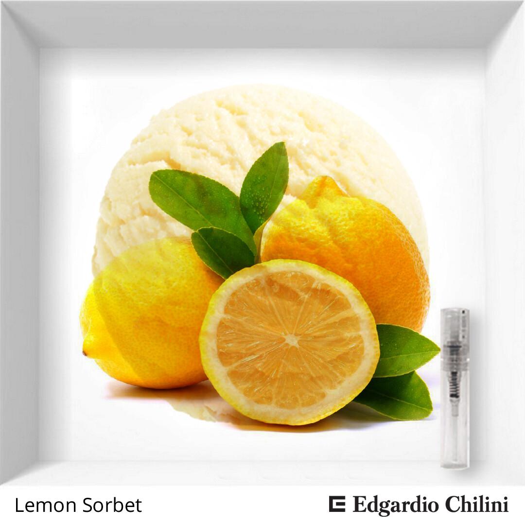 Edgardio Chilini Lemon Sorbet sample