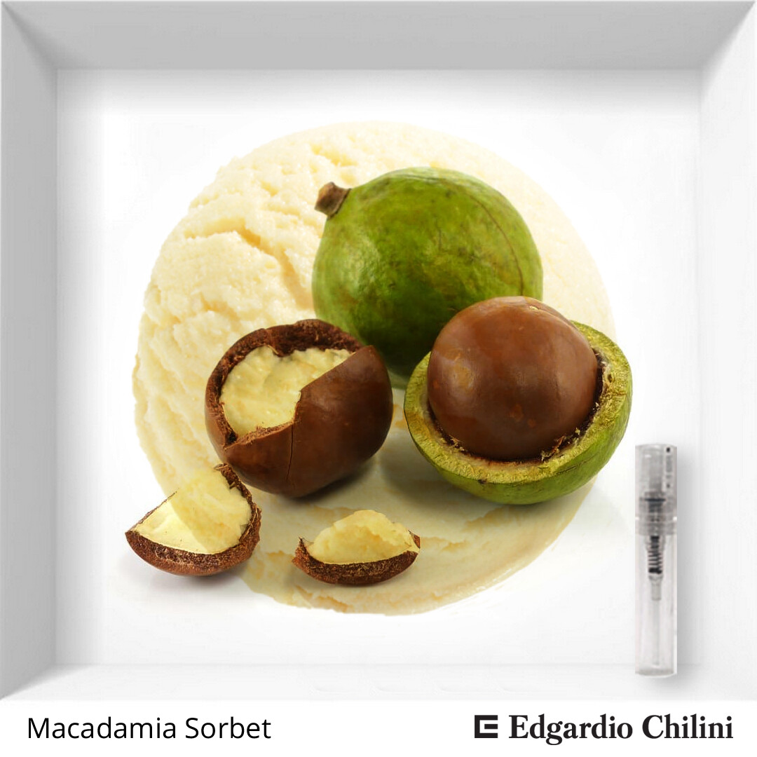 Edgardio Chilini, Macadamia Sorbet, nut fragrance, 2 ml