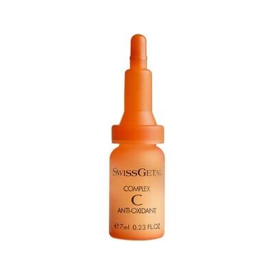 Комплексная сыворотка с витамином С, Complex C Anti-Oxidant, SwissGetal, 4 х 7 ml