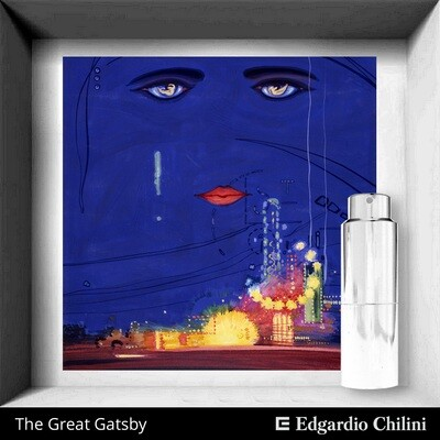 The Great Gatsby, Edgardio Chilini, iris fragrance