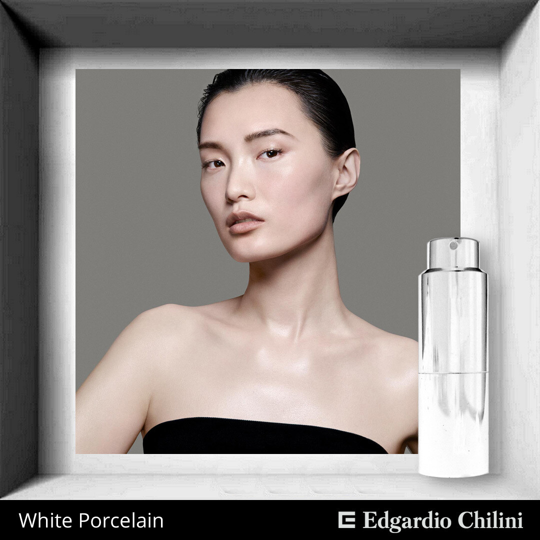 Edgardio Chilini, White Porcelain, white-flowered aldehyde fragrance