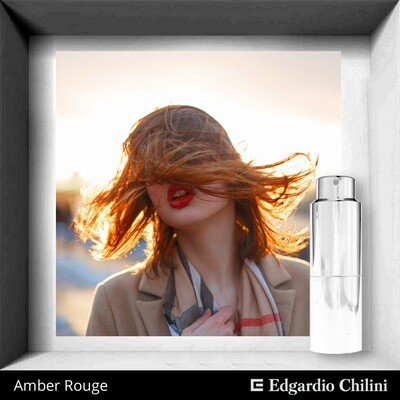 Amber Rouge, Edgardio Chilini, vanilla amber fragrance