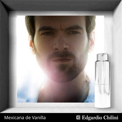 Edgardio Chilini, Silver Olibanum, oriental spicy fragrance