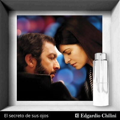 Edgardio Chilini, El secreto de sus ojos, almond amber fragrance