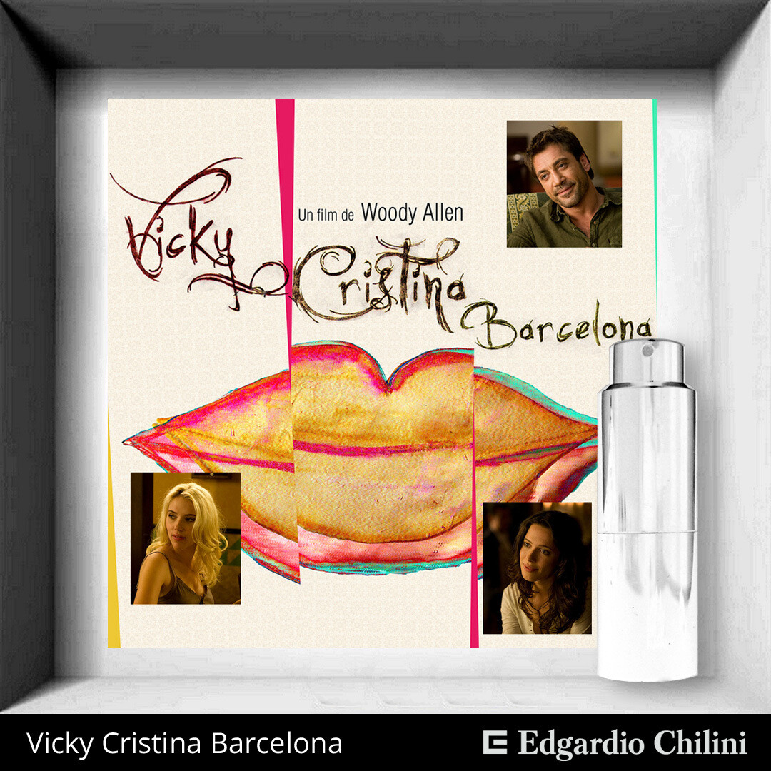 Edgardio Chilini, Vicky Cristina Barcelona, naturally scented fragrance