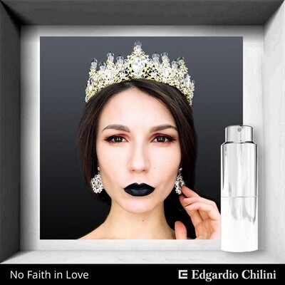 Edgardio Chilini, No Faith In Love, fresh jasmine fragrance