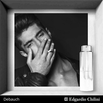 Edgardio Chilini, Debauch, tar spicy fragrance