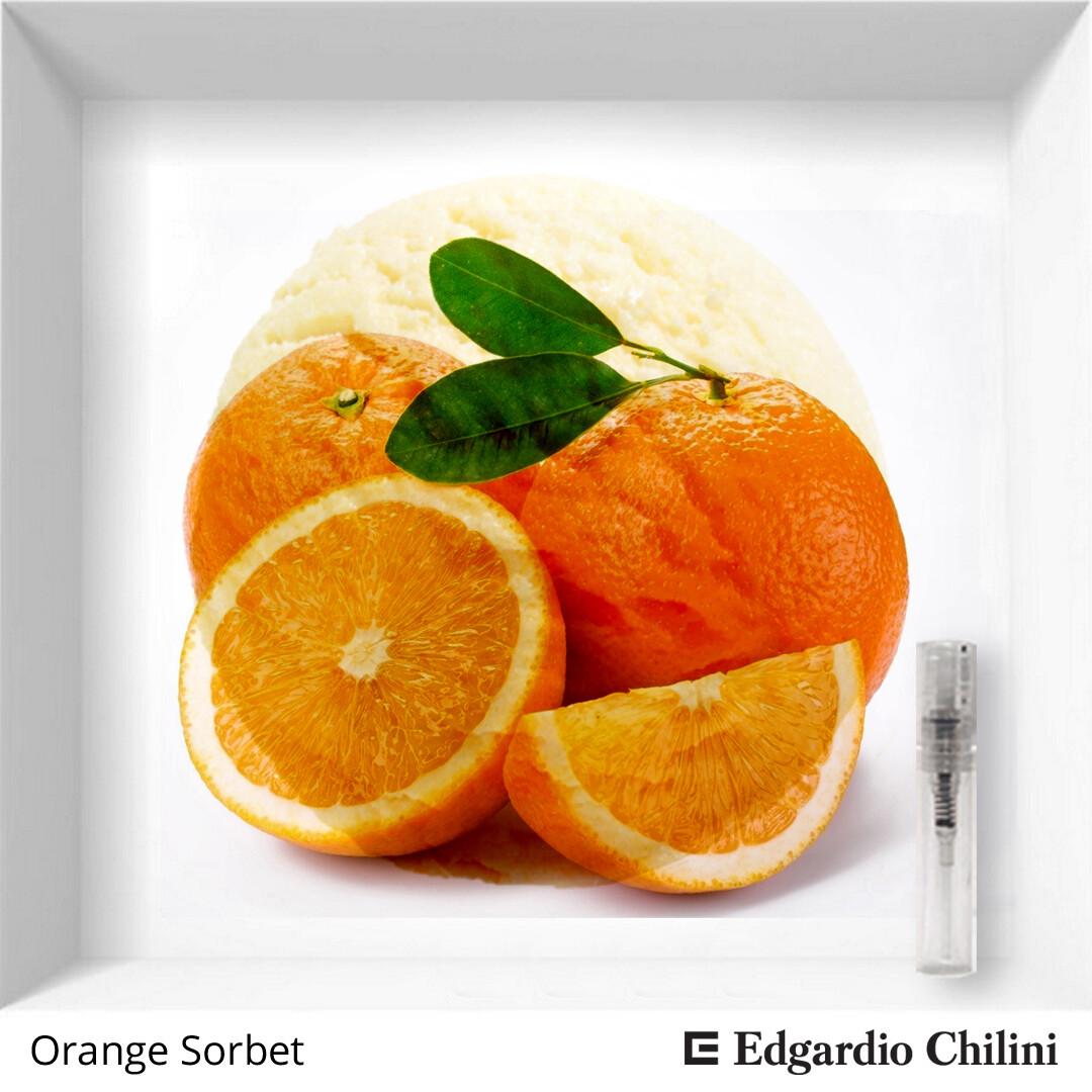 Edgardio Chilini, Orange Sorbet, citrus aromatic, 2 ml