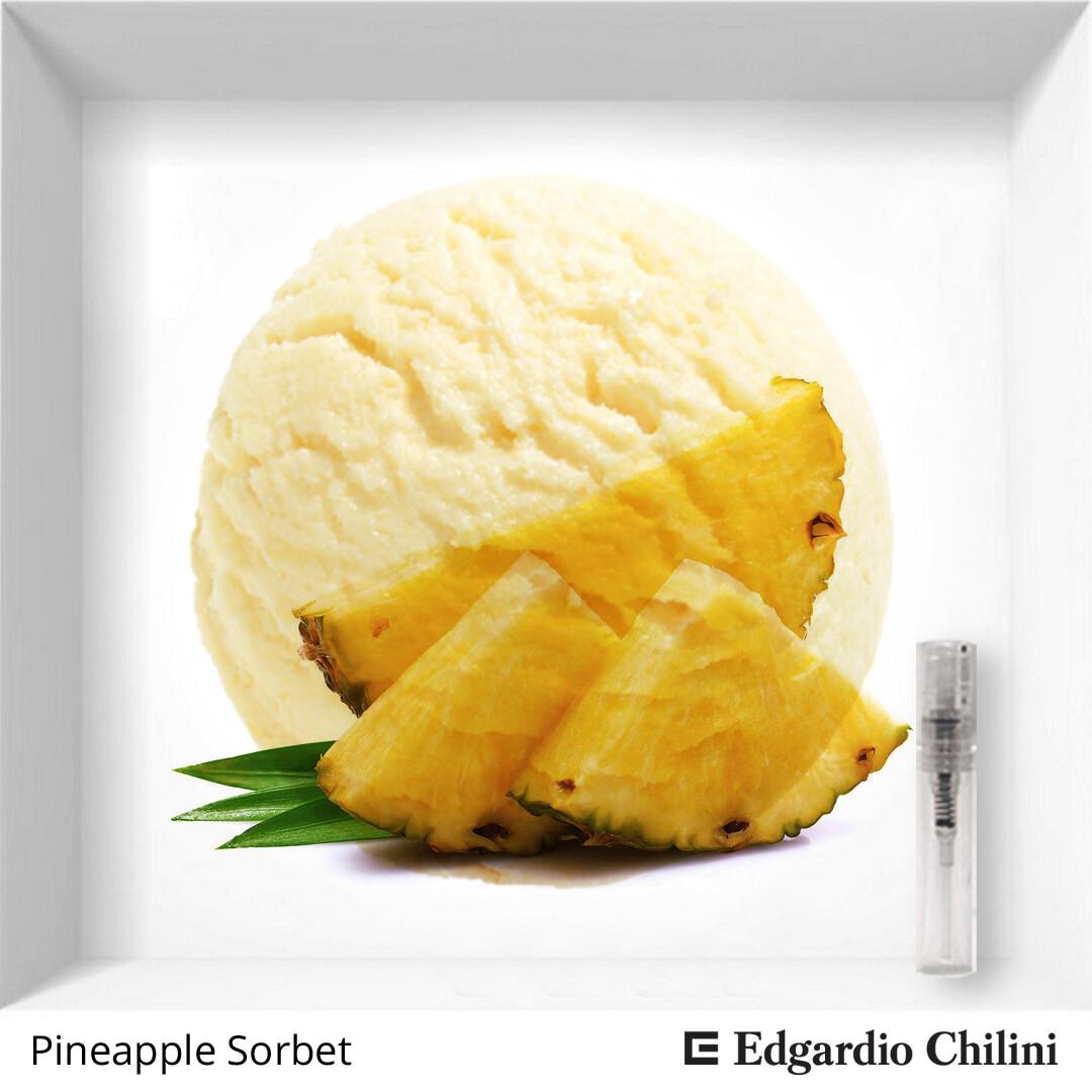 Edgardio Chilini Pineapple Sorbet sample
